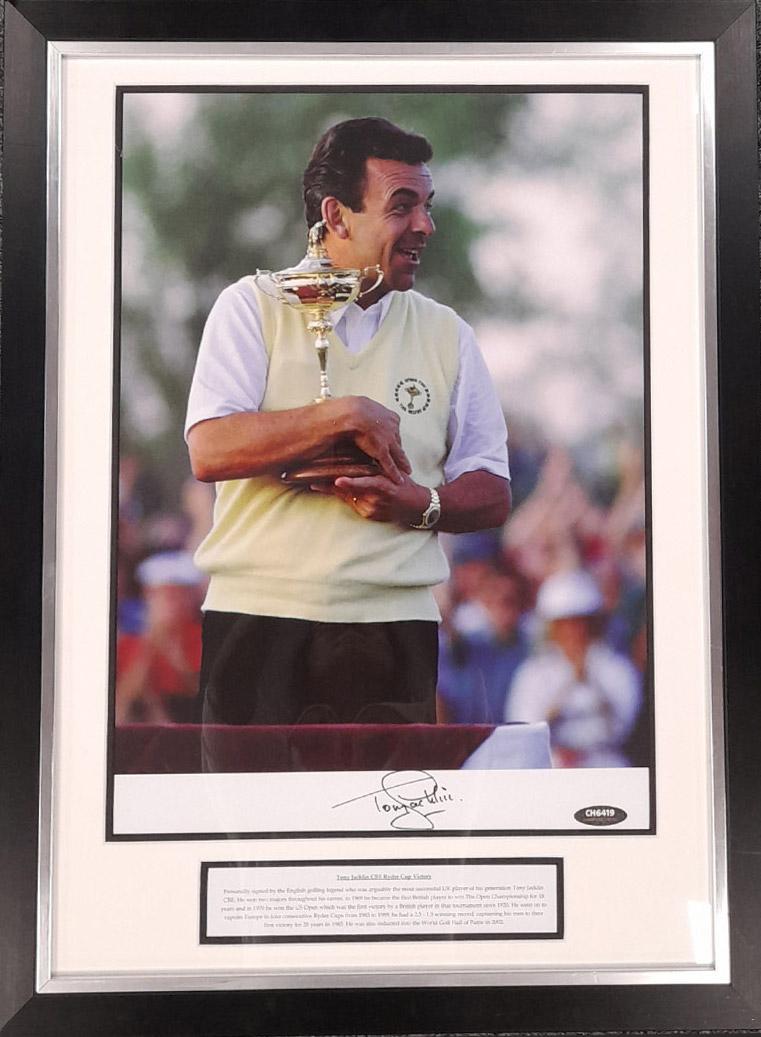 WIN A Signed Photo of Tony Jacklin CBE