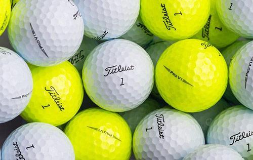 Win A Year's Supply Of Titleist Golf Balls